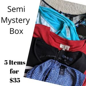 Semi Mystery Box of 5 Small Dresses and Jumpers